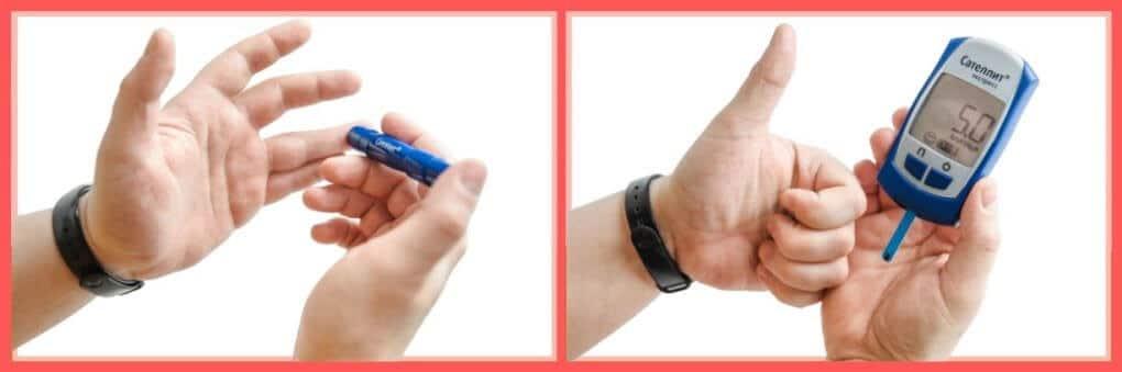 Como usar un glucómetro